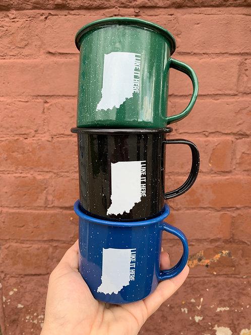 Enamel Mug - I Like It Here