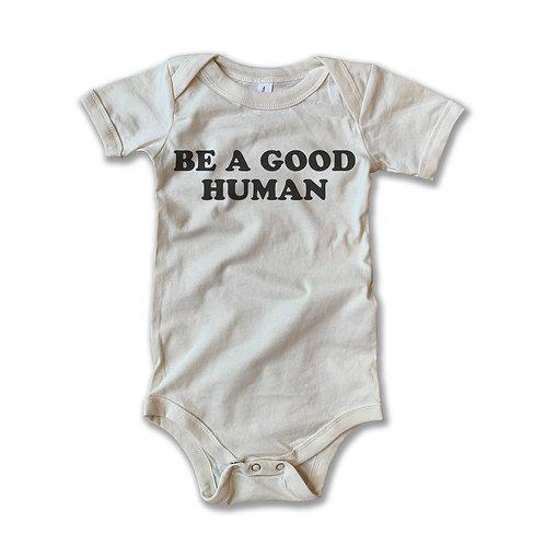 Good Human Onesie