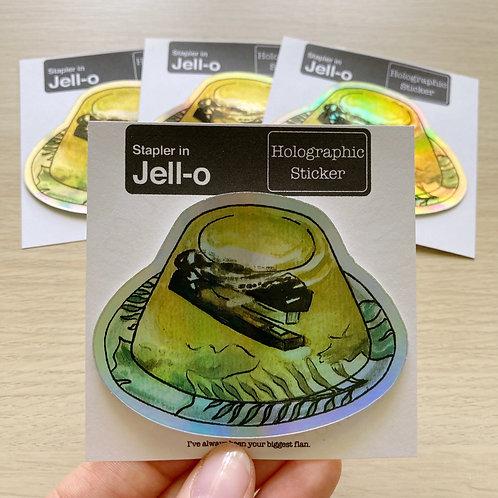 The Office - Stapler In Jell-O Sticker