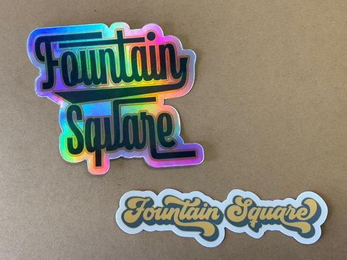Sticker - Fountain Square