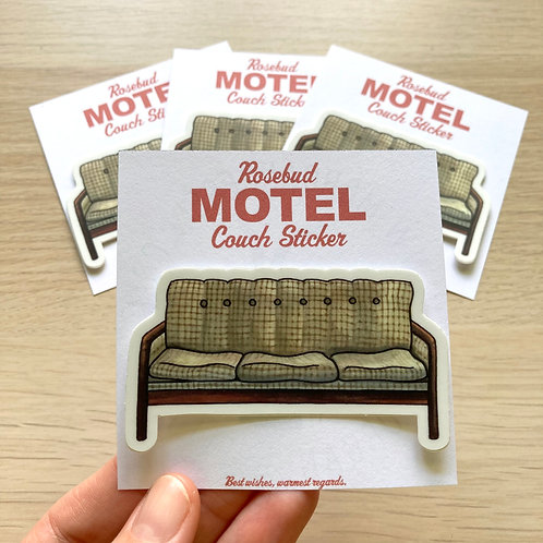 Schitt's Creek - Rosebud Hotel - Sticker