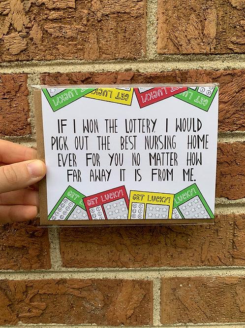 If I Won The Lottery