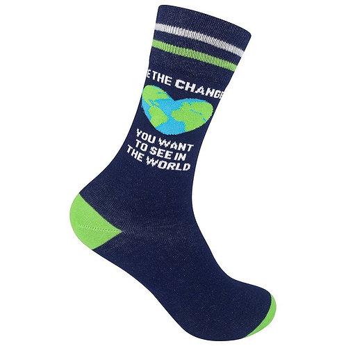 Be The Change Socks