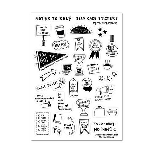 Self Care Sticker Sheet