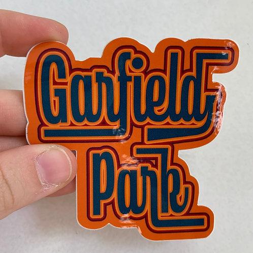 Sticker - Garfield Park - Orange