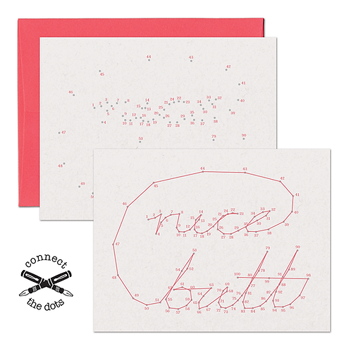 Connect the Dots - Nice Butt Card