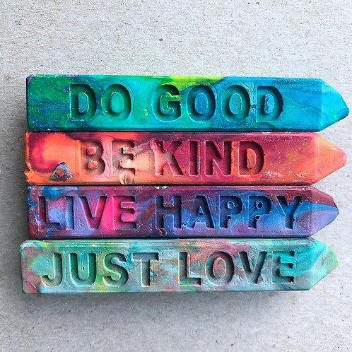 Kindness Collection Original Rainbow Crayon® Mini Stix™ 4 pk