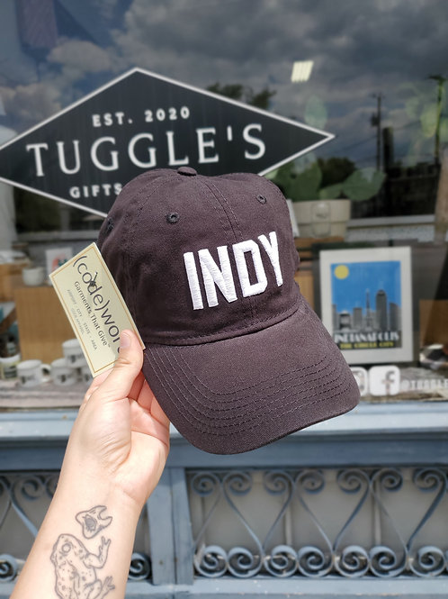 INDY hat (Black)