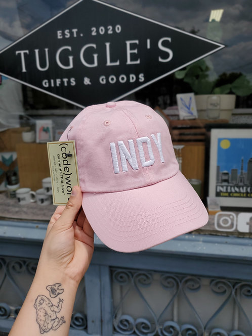 INDY hat (PINK)