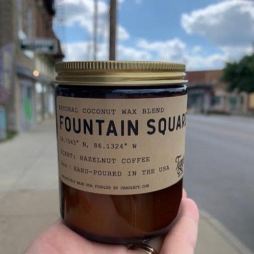 Fountain Square Candle - 9oz