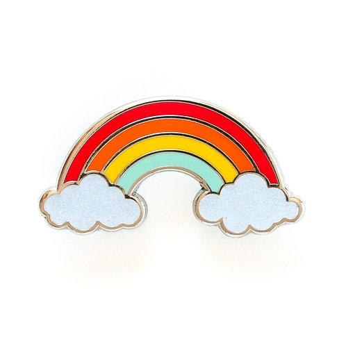 Rainbow Enamel Pin