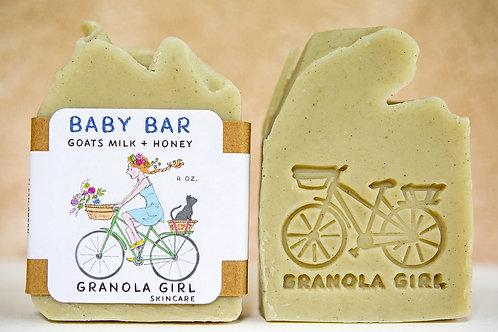 Baby Bar Soap- Goats Milk, Lavender & Honey