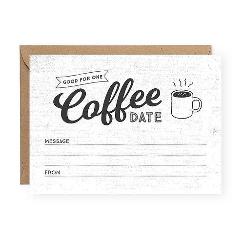 Coffee Date Greeting Card