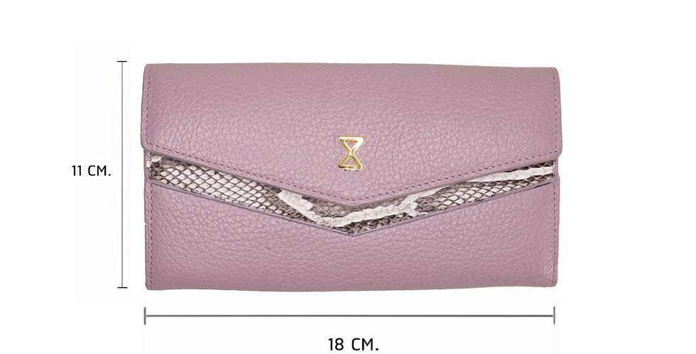 Lita Wallet x Python - Lavender Pink