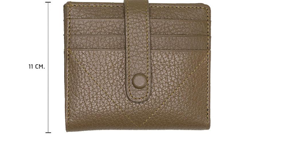 Lita Mini Wallet - Olive Green