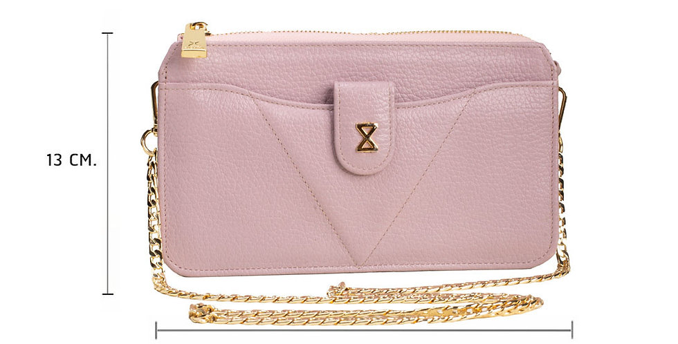 Lita Crossbody Bag - Lavender Pink