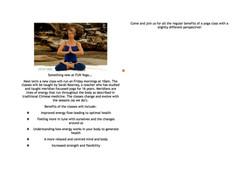 Chi Energy Yoga with Sarah