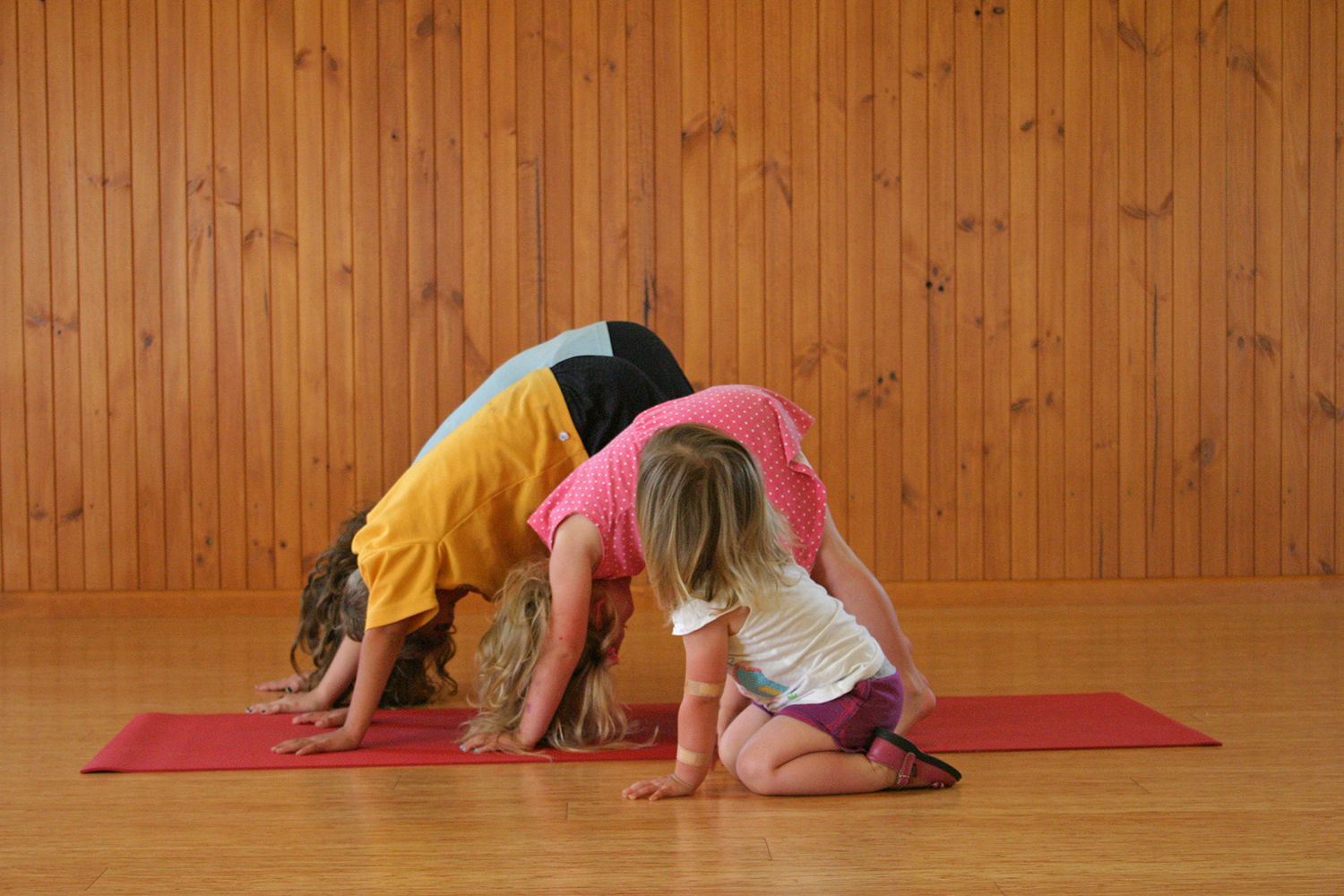 Kids Downward Dog