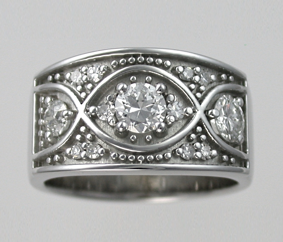 Wide Dress Ring