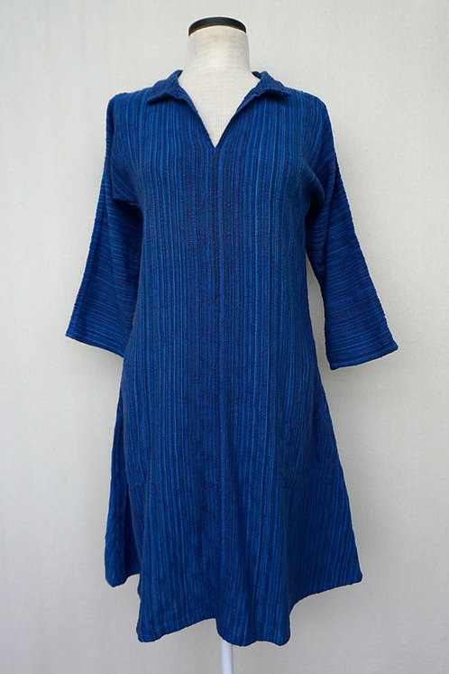 Royal Blue Flash Tunic, Collared