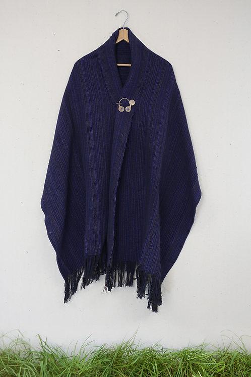 Purple Martin | Rectangle Shawl