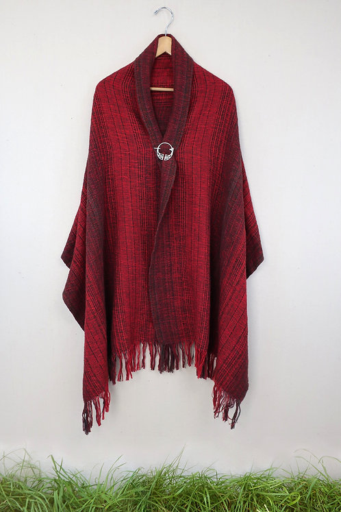 Cardinal | Rectangle Shawl