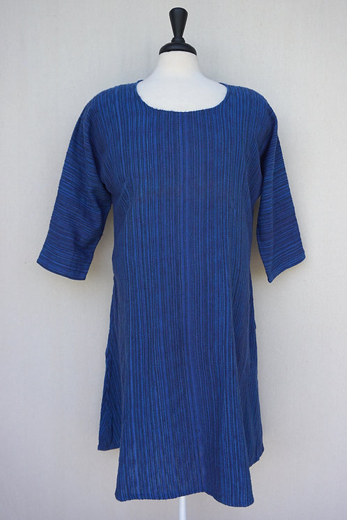 Royal Blue Flash | Tunic, Scoop Neck