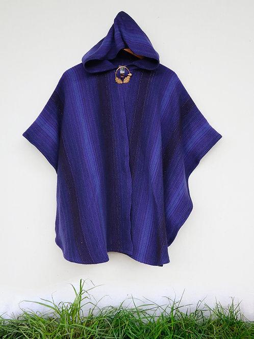 Purple Magic Hour Mini Ruana