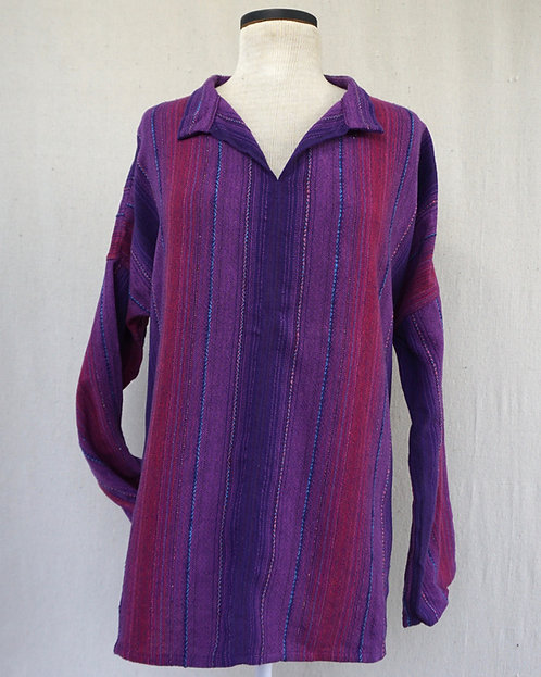 Purple Passion Arming Shirt with Pockets