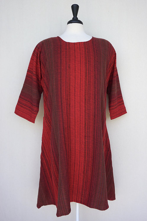 Cardinal Tunic, Scoop Neck