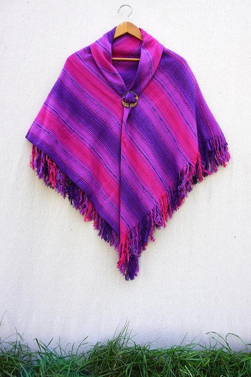 Purple Passion | Square Shawl