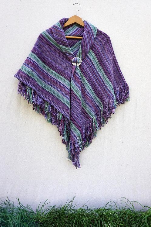 French Lavender Square Shawl