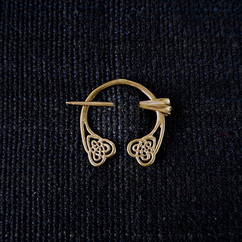 Heart | Button Brooch
