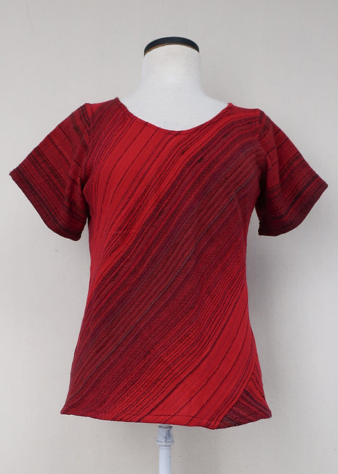 Cardinal | Bias Cut Shirt