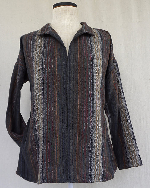 Grey Agate Arming Shirt with Pockets