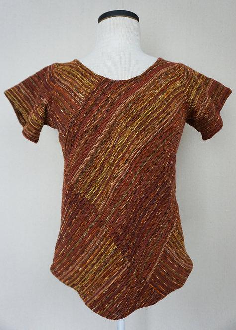 Vintage Autumn Leaves | Bias Cut Shirt