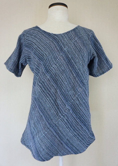 Indigo Sky | Bias Cut Shirt