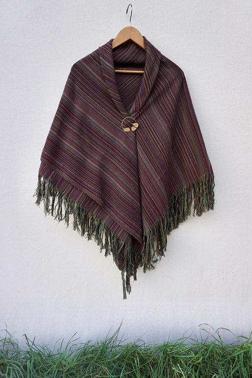 Purple Ash | Square Shawl