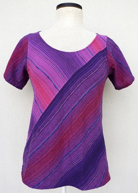 Purple Passion | Bias Cut Shirt
