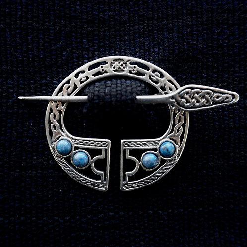 Legion | Brooch, Denim Lapis Lazuli