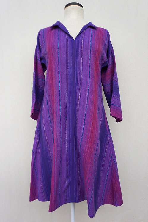 Purple Passion Tunic, Collared