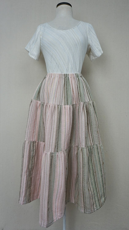 Orchard Blossom   Three Tiered Skirt