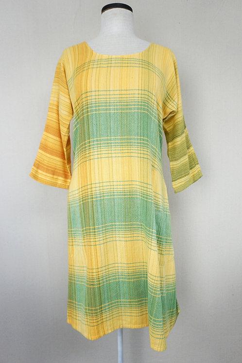 Sunflower Stripes | Tunic, Scoop Neck