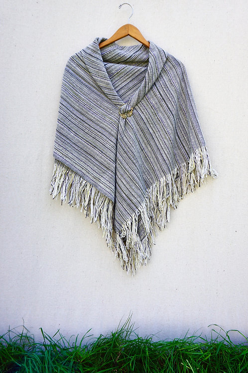 Aspen Bark | Square Shawl