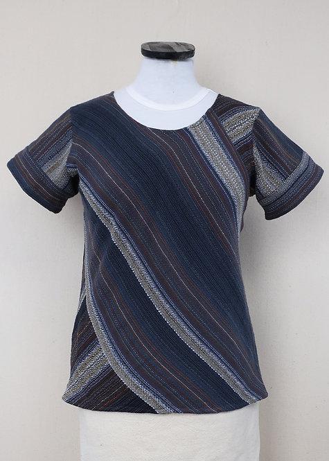 Black Agate | Bias Cut Shirt