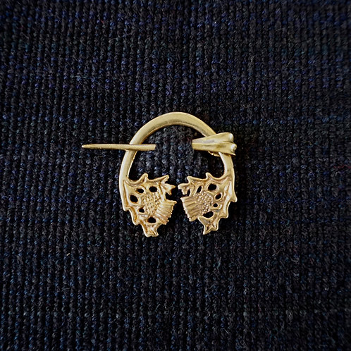 Thistle | Button Brooch