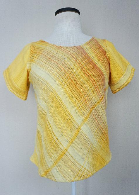 Sunflower Stripes | Bias Cut Shirt