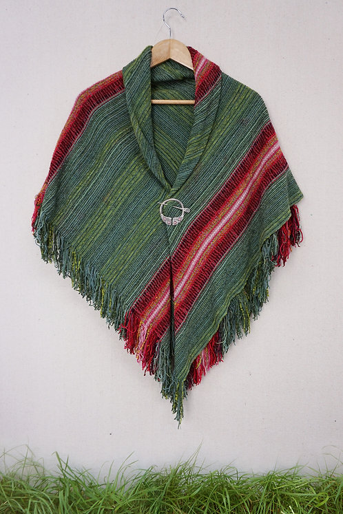Rose in Bloom   Square Shawl