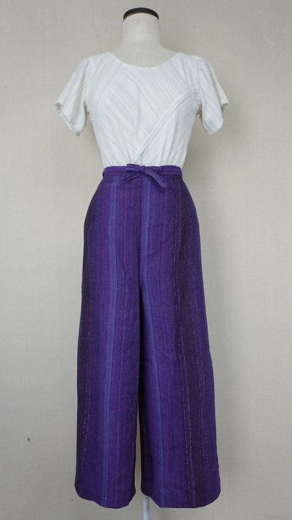 Purple Magic Hour | Wrap Pants