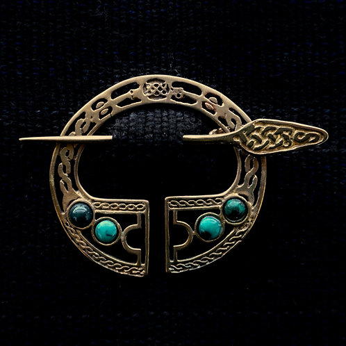 Legion | Brooch, Chrysocolla